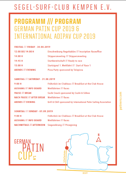 Programm German Patin Cup 2019